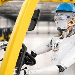 robot-forklift-hard-hat