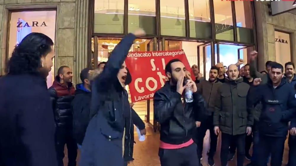 zara protesta lavoratori-2